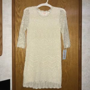 NWT Cat and Jack Girls sweater dress